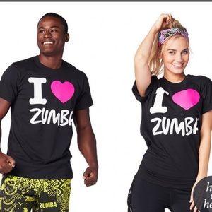 Zumba T/shirt sz XL/XXL
